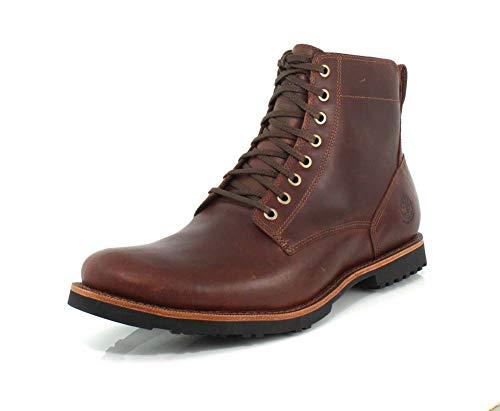 Timberland Kendrick Side Zip Waterproof Boot Medium Brown Full-Grain 7
