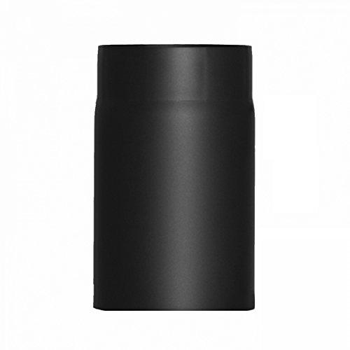 raik SH004-180-sw Rauchrohr/Ofenrohr 180mm - 250mm schwarz