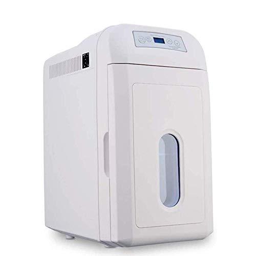 DYB Refrigerador silencioso portátil, Control de Temperatura Digital, refrigerador portátil Compacto de 35L para automóvil, Utilizado en el Dormitorio, la Oficina, el Dormitorio