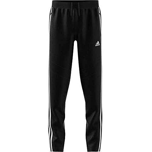 adidas Tiro 19 Cotton Pant Pantaloni, Uomo, Black/White, M