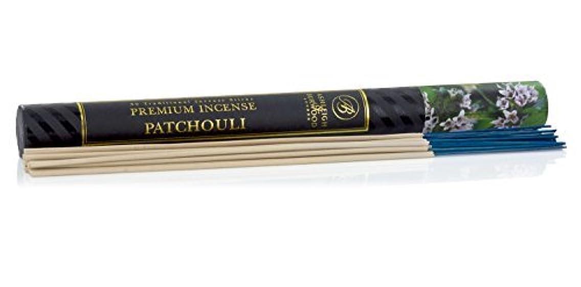 に沿ってホイッスル代表Ashleigh&Burwood お香 30本入 パチョリ insense Pachori アシュレイ&バーウッド