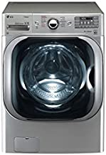 LG WM8100HVA 5.2 cu. ft. Mega Capacity TurboWash Washer with Steam Technology in Graphite Steel