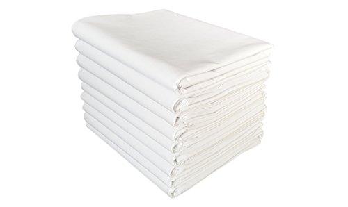 TM Maxx TischtuchBetttuch BettlakenHaushaltstuch Sommerdecke Laken in Hotelqualität⁕ 150g/m² (2) ⁕ 5 Größen⁕ gesäumt an 2 Seiten ⁕ 100% Baumwolle ⁕ ohne Gummizug (160x270 cm)