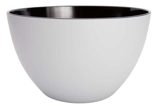Zak Designs zweifarbig Salatschüssel matt grau/schwarz, 28cm