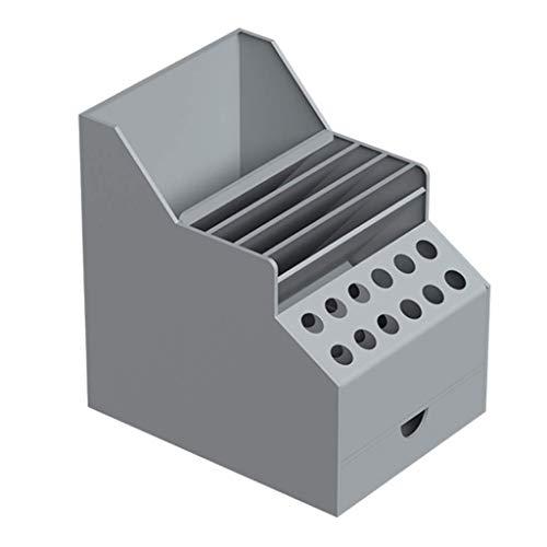 Convenientemente Caja de herramientas de plástico Pinzas Destornilladores Alicates del componente electrónico de almacenamiento Caja de reparación de telefonía móvil turística de almacenamiento dispos