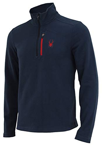 Spyder Men's Transport 1/4 Zip Fleece Pull Frontier M