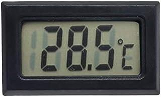 hkwshop Higrómetro para Interior Higrómetro Termómetro Medidor LCD Digital Redondo Colorido Temperatura Tester Aquarium Hu...