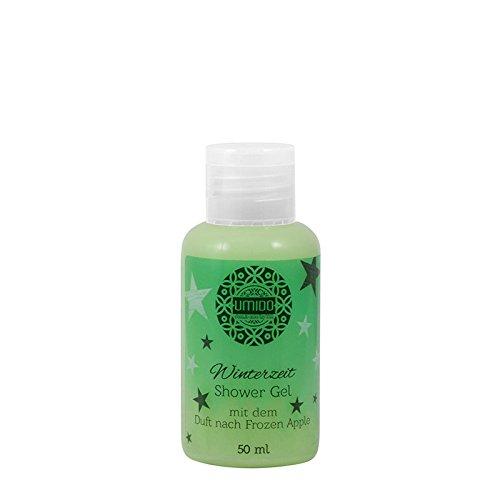 1x UMIDO Duschgel Weihnachts-Edition 50 ml Frozen Apple   Waschgel für Körper, Gesicht und Haare   sanfte Pflegedusche   Körperpflege (4-KPF) (7-WHT)