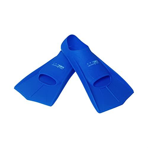 XJZM Aletas de natación, Calzado de natación Aletas de esnórquel, Aletas Adultos Esnórquel Surf Principiante Deportes acuáticos Trek Pie Comodidad Flexible (Color : Blue, Size : L)