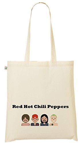 Borsa shopper biologica - Peperoncino rosso - 100% Bio - Fairtrade