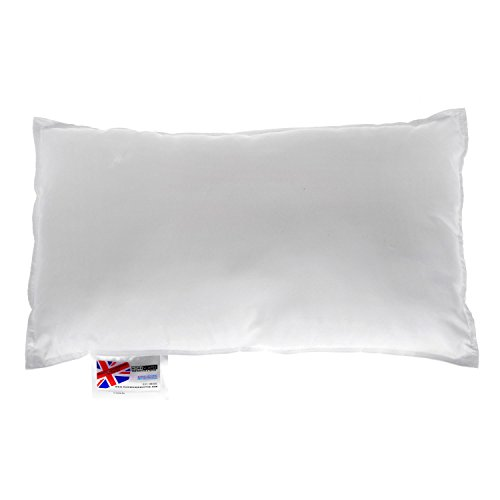 "HOMESCAPES Super Microfibre Cushion Pad 30 x 50 cm (12"" x 20"") Inner Insert Hypoallergenic Synthetic Cushion Filler Machine Washable"