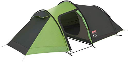 Coleman Laramie 3 Man Blackout Tunnel Tent Grey Lightweight Expedition Active