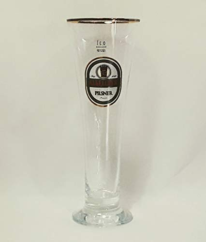 Alsfelder Gläser 0,3l / Rathaus Pilsner Premium/Goldrand/Biergläser/Bier / 6er Set