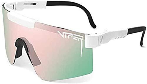 Pit-Viper Gafas de sol, Pit-Vipers Gafas de sol deportivas al aire libre UV400 polarizadas gafas de ciclismo para mujeres y hombres, C3,