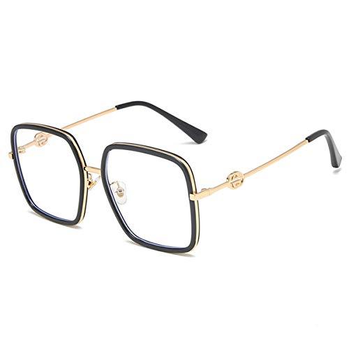 Ruixfpu Bequeme Anti-Blaulicht-Brille, Lesebrille, Computer-Brille gegen Überanstrengung und Blendung, leichter Rahmen, 2