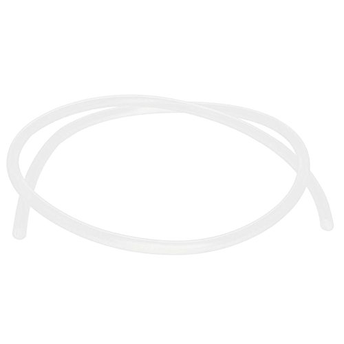 SODIAL(R) 1 rollo 6mm x 8mm Silicona Calidad Alimentaria Agua Aire Tubo Manguera 1 Metro