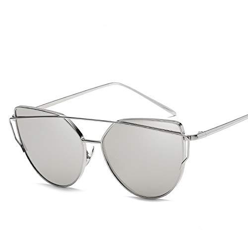 Sunglasses Gafas de Sol de Moda Gafas De Sol De Diseñador para Mujer, Gafas De Sol Tipo Ojo De Gato, Gafas De Sol con Es