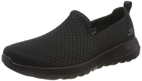 Skechers Damen Go Walk Joy Sneaker, Schwarz (Black Textile/Trim BBK), 38.5 EU