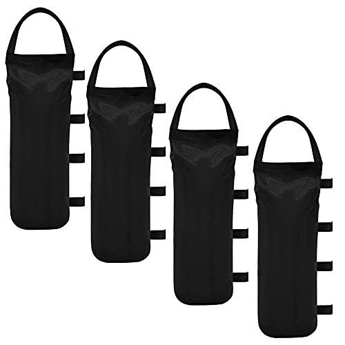 Athemeet Peso Bolsas De Arena Pesado 600d Oxford Paño Gazebox Sandbag para Pop Up Tabla Tienda Plegable...