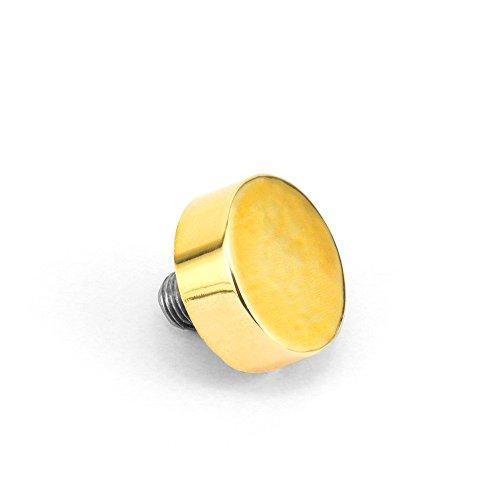 ImpressArt Ergo Angle Hammer Replacement Tip, Brass