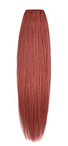 American Dream original de qualité 100% cheveux humains 50,8 cm soyeuse droite trame Couleur 135 – Cuivre Profond Rouille