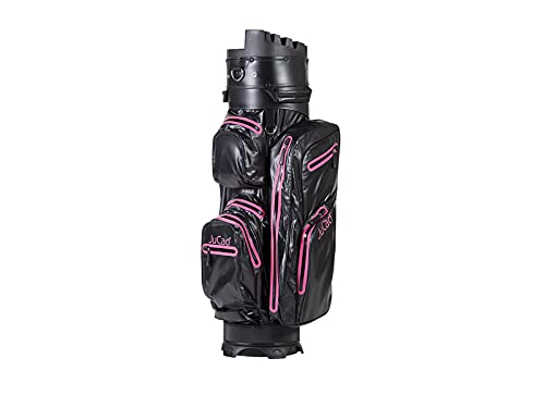 JuCad Bag Manager Dry Wasserdichtes, federleichtes Bag mit Organizer schwarz-pink (schwarz-pink)
