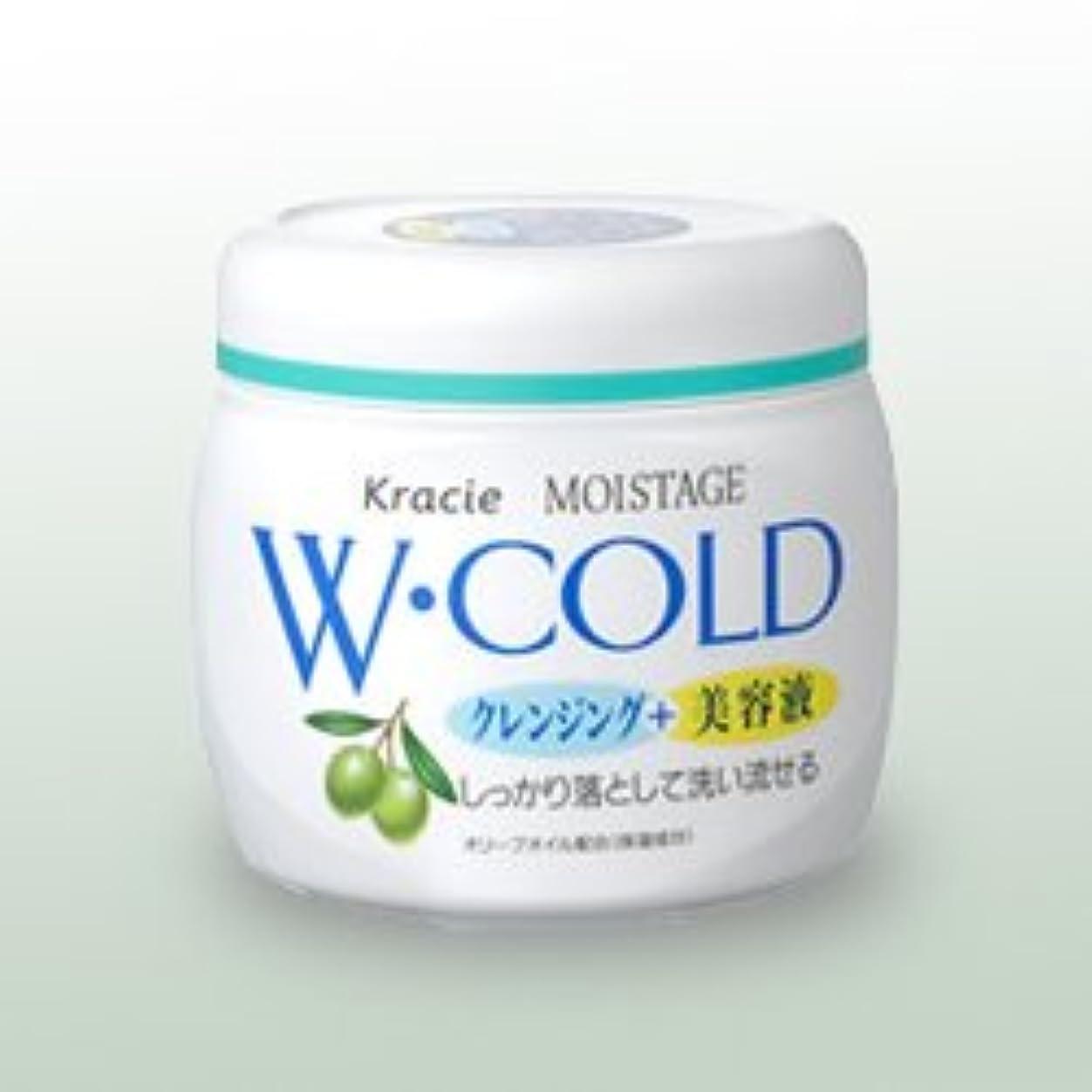 動作バンガローミシン【クラシエ】モイスタージュ Wコールドクリーム 270g ×20個セット