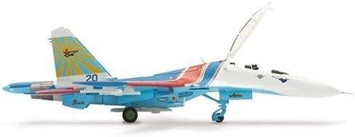 los últimos modelos Daron Worldwide Trading HE551816 Herpa SU27UB Russian Knights Aerobatic Team Team Team 1 200 by Daron  100% autentico