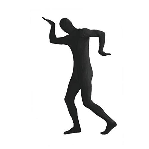 MICHAELA BLAKE Halloween Kostüme anzeigen Spandex Body Full Body Zentai hauteng Spandex-Anzug Ganzkörper-Anzüge Lycra-Kostüm-Abendkleid schwarz M