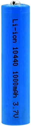 3.7V 1000mAh 10440 baterías de Iones de Litio Litio Células de reemplazo de Litio para ratón antorcha de Afeitar eléctrica-PC 1