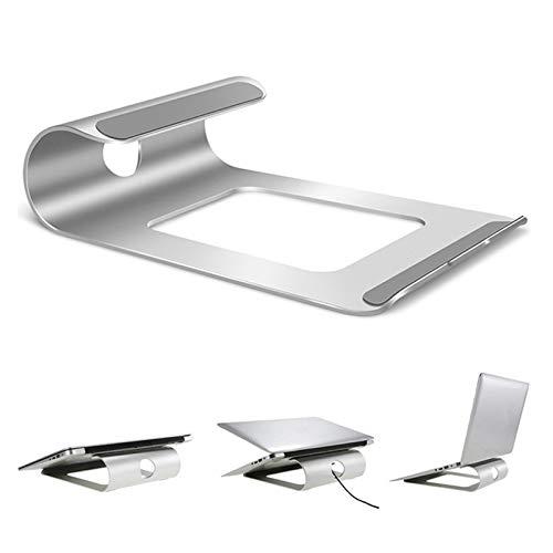 XXY Aluminio Portátil Soporte Escritorio Portátil Soporte Soporte Refrigeración Almohadilla