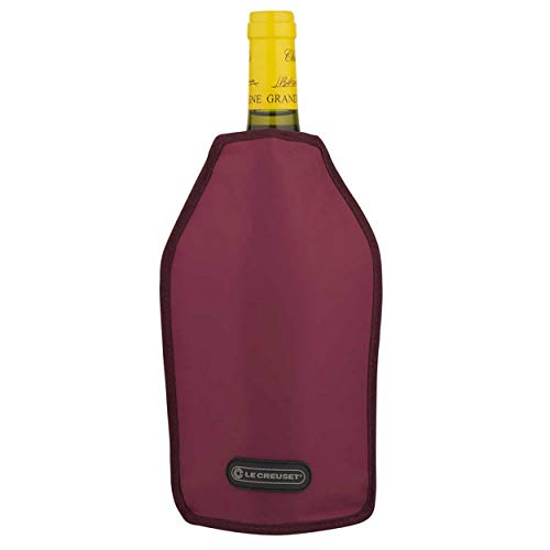 LE CREUSET WA-126 Borsa Termica per Bottiglie di Vino o di Champagne, Tessuto Idrorepellente, Borgogna
