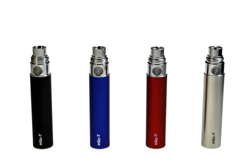 eGo-T Cigarrillo Electrónico Batería estándar 650mAh, color plateado