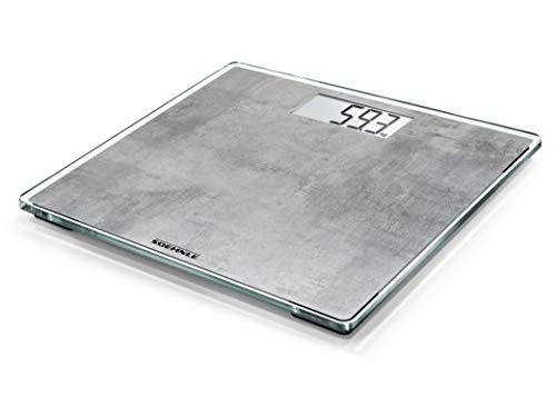 Soehnle 63882 Style Sense Compact 300 Concrete Digital Body Scales with LCD Display