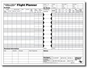 vfr flight log sheet