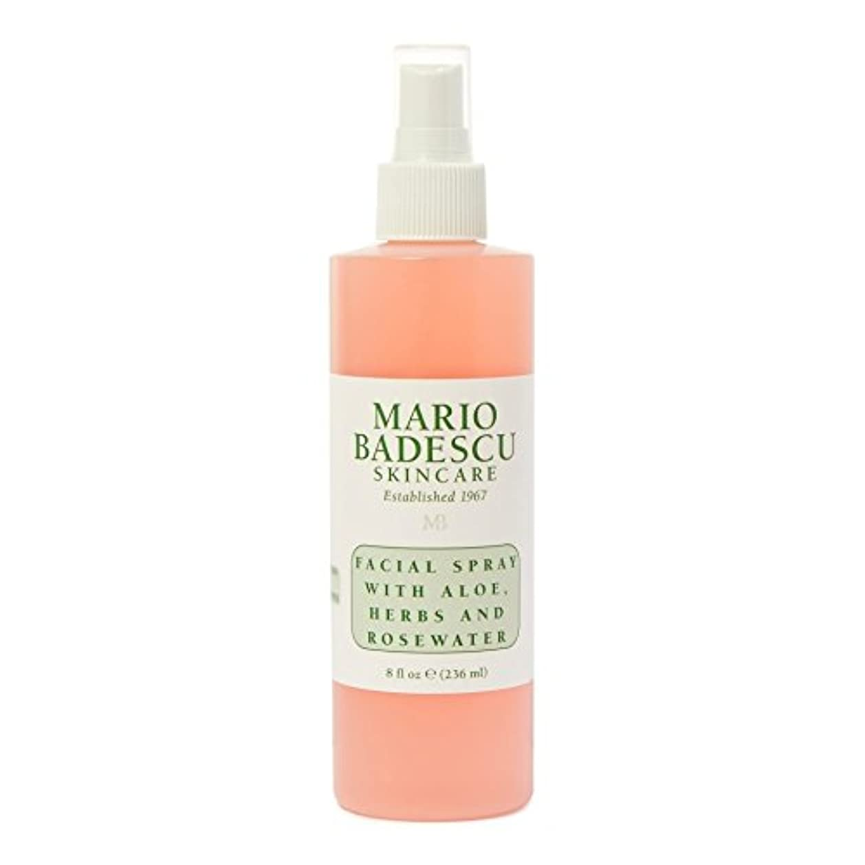 新年荷物旧正月Mario Badescu Facial Spray 236ml - マリオ?バデスキュー顔面スプレー236ミリリットル [並行輸入品]