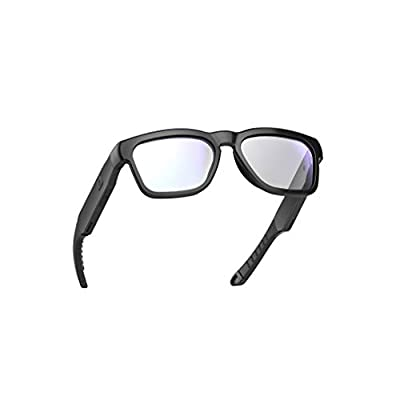 OhO sunshine Safety Glasses,Over Ear Bluetooth Glasses with Built-in Microphone to Listening Music and Phone Calls, UV400 Blue Light Blocking Healthy Lens Technology