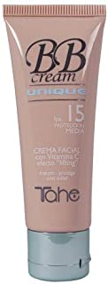 Tahe BB Cream Unique Colour Control Efecto Lifting Hidraa Protege y Disimula Imperfecciones, F.P.S 15, Nº 81, 50 ml