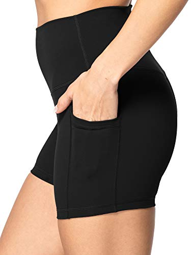 "Sunzel 8"" / 5"" Biker Shorts for Women with Pockets, High Waisted Yoga Workout Shorts"
