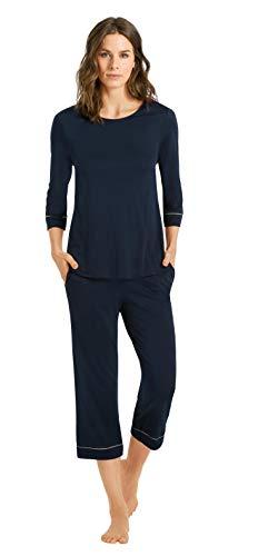 Hanro Natural Comfort 3/4-Pyjama Damen