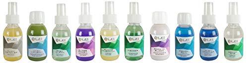 Liquid Elements 10-Teiliges Probe-Set Shampoo & Versiegelung & Glasreiniger