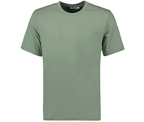 Tony Brown Herren T-Shirt Rundhals | Oliv/Grün | Shirt | Unifarben | Basic Shirt | 100{b81e9a0d45e626678de9804fb1dc2997403266b7af102b70b049d79e4a2ca400} Baumwolle | Kurzarm (XL, 1er Set)