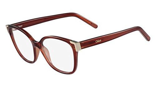 Chloé Brillengestelle CE2695 Monturas de gafas, Rojo (Rot), 54.0 para Mujer