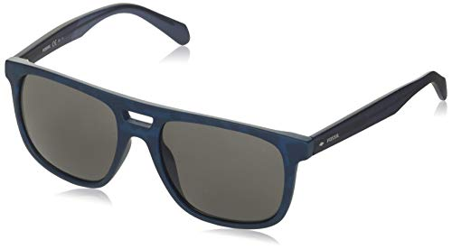 Fossil Herren FOS 3096/G/S Sonnenbrille, Blaue HVNA, 54