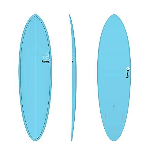 TORQ Epoxy TET 6.8 - Tabla de Surf, Color Azul