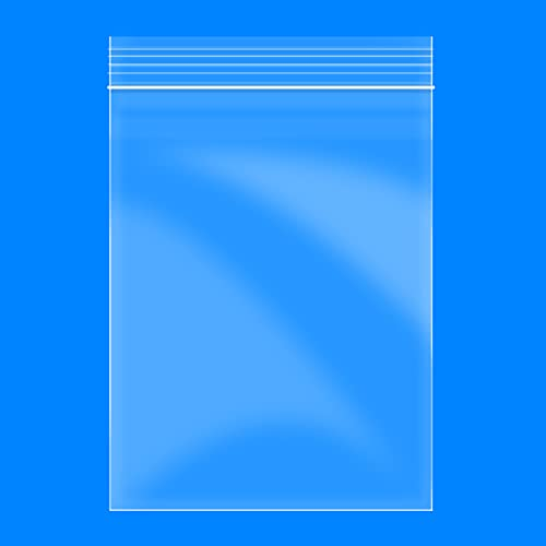 2' x 3', 200 Count Resealable Small Plastic Bags, 2 Mil Thick Zipper Storage Clear Poly Bags and 60 PCS Stickers Labels, Food Grade Safe, Suitable for Jewelry, Pill,Candy, Coin, Daily Vitamin