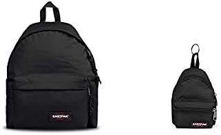 Padded Pak'r Mochila, 40 cm, 24 L, Negro (Black) + Mini Padded Monedero, 12 cm, Negro (Black)