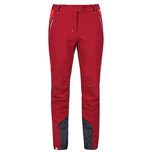Regatta Damen Outdoor-Hose, wasserabweisend (42 DE) (Rot/Signalrot)