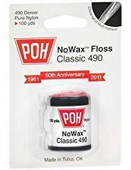 Poh, Dental Floss Unwaxed 1 Yard, 1 Count