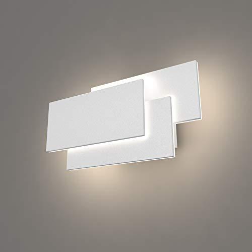 K-Bright LED Wandleuchten Innen,24W,IP20 Badleuchte,Modern Design Lampe Wandlicht,Weiß Wandbeleuchtung,4000K-4500K Natürliches Weiß